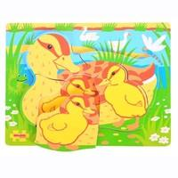 Bigjigs Toys Chunky Puzzle Duck and Duckling