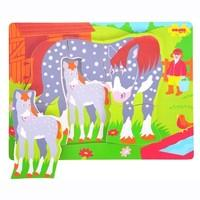 Bigjigs Toys Chunky Puzzle Horse and Foal