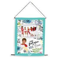 Blue High School Musical Wall Scroll