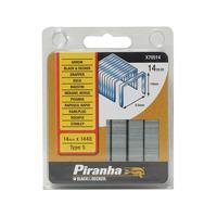 Black+Decker X70514 Flat Wire Staples 14mm Pack 1440