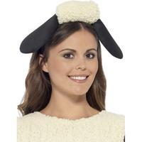Black And White Shaun The Sheep Headband.