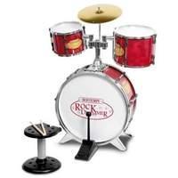 Bontempi - Metallic Silver Drum Set