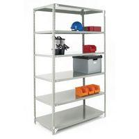 BOLTED SHELVING STARTER BAY GREY - 2000 X 1200 X 600