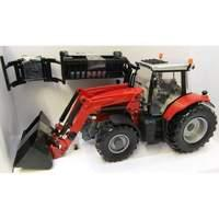 Britains Farm - Massey Ferguson 6616 Tractor with Loader - 1:32 Scale