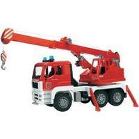 bruder MAN Feuerwehr Kran-LKW+Licht
