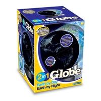 Brainstorm Toys 2 in 1 Globe Earth by Day Earth by Night