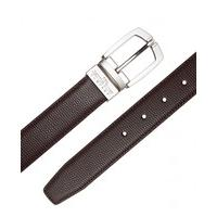 Brown Reversible Leather Belt 34\