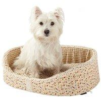 Bunty Cream Blossom Dog Bed Medium