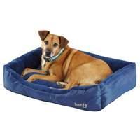 Bunty Blue Deluxe Dog Bed Medium