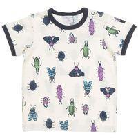 Busy Bugs Baby T-shirt - White quality kids boys girls