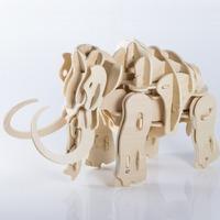BYO Walking Talking 3D Mammoth