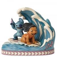 Catch The Wave (Lilo and Stitch 15th Anniversary Piece) Disney Traditions Figurine