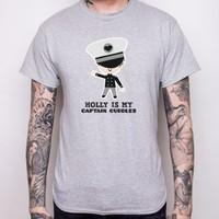 Captain Cuddles - Personalised T-Shirt