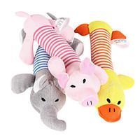 Cat Toy Dog Toy Pet Toys Chew Toy Squeak / Squeaking Cartoon Plush