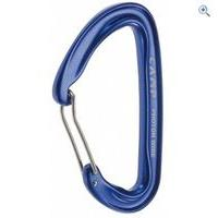 Camp Photon Wire Straight Gate Carabiner (Blue) - Colour: Blue