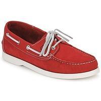 Casual Attitude REVORO men\'s Boat Shoes in red