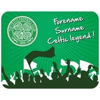 Celtic Personalised Legend Mouse Mat, Green