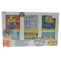 Character Minion Paint Your Own Canvas Set
