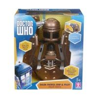 Character Options Doctor Who Dalek Patrol Ship and Figure