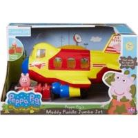 Character Options Peppa Pig Muddy Puddles Jumbo Jet