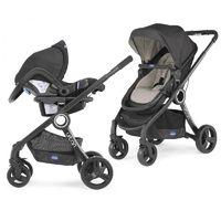 Chicco Urban Plus Stroller 3in1 Travel System-Dune