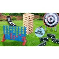 Choice of 10 Jumbo Family Garden Games
