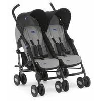 Chicco Echo Twin Stroller in Coal