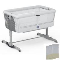 Chicco Next2Me Dream Crib-Delicacy (New) + Free 3 Fitted Sheets Worth £30!