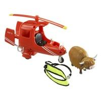 Character Postman Pat Deluxe SDS Electronic Helicopter with Runaway Cow