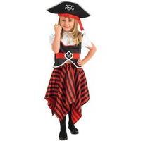 Child Girl Pirate Costume - Small
