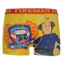 Character Fireman Sam Single Boxer Shorts Infant