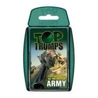 Classic Top Trumps Childrens Kids Travel Holiday Playing Cards BRITISH ARMY FIGHTING FORCES