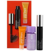 Clinique Gifts and Sets Chubby Lash Fattening Mascara 9ml, Take The Day Off Makeup Remover 30ml and Pep Start Eye Cream 7ml