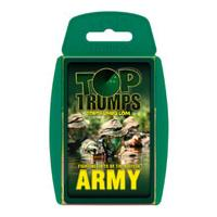 Classic Top Trumps - British Army Fighting Forces