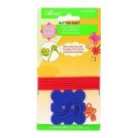 Clover Asian Knot Template Buttons