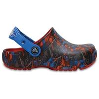 Clogs Boys Red Fun Lab Spider-Man s