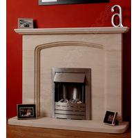 Cotswold Limestone Fireplace Package With Gas Fire