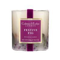 Crabtree & Evelyn Botanical Candle Festive fig 560g