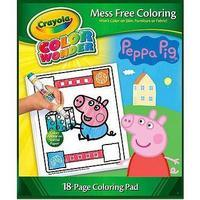 Crayola Color Wonder Peppa Pig Mess Free Art Set