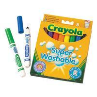 Crayola 8 Washable Markers