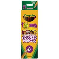 Crayola Multicultural Pencils - Pack of 8