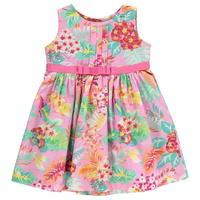 Crafted Floral Dress Baby Girls