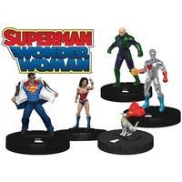 DC Hero Clix Superman Wonder Woman Standard Booster Pack