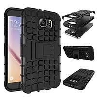 DEJIShock Proof Tough Rugged Dual-Layer Case with Built-in Kickstand for Samsung Galaxy S7/S7 Edge/S7
