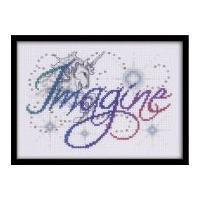 Design Works Counted Cross Stitch Kit Imagine