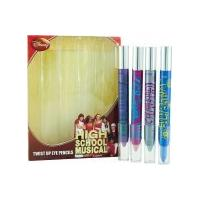 Disney High School Musical Gift Set 4 Twist Up Eye Pencils
