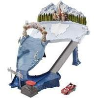 Disney Pixar Cars Ice Racers Snowdrift Spinout Track Set