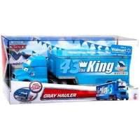 Disney Pixar Cars Gray Hauler - Transporter for The King
