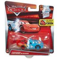 Disney Pixar Cars 2 Transforming Lightning Mcqueen