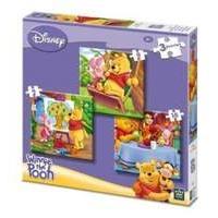 Disney Winnie The Pooh Pack of Three Jigsaw Puzzles